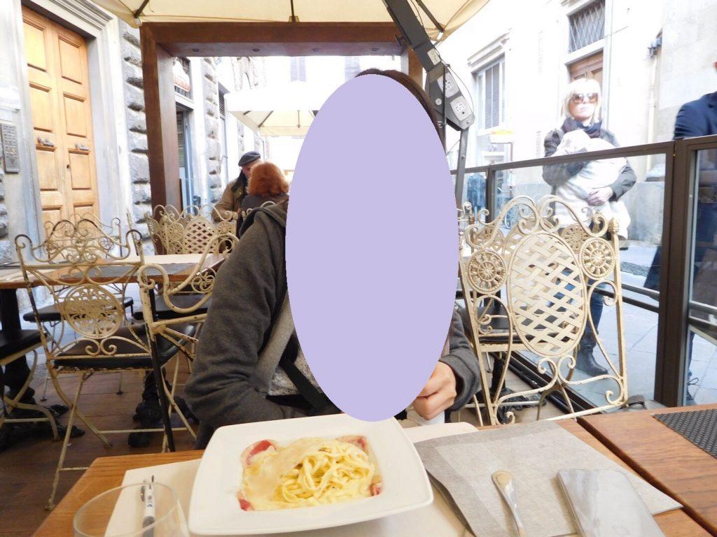 フィレンツェでランチ