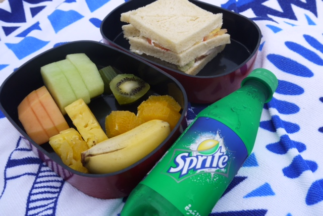 ザ レジデンス モルディブのハネムーン特典である無人島ピクニックの時に頂いたお弁当セット
