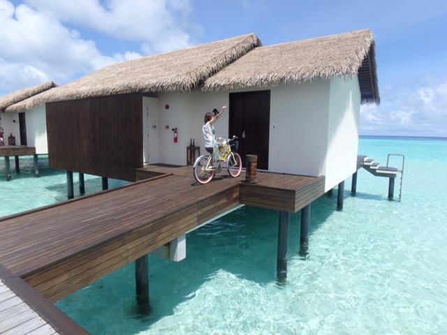 ザ レジデンス モルディブ(The Residence Maldives)で宿泊した水上コテージ