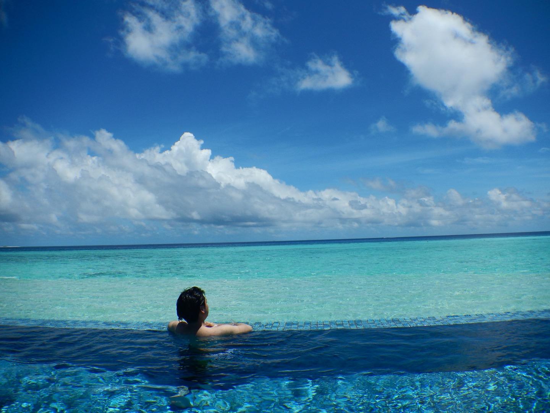 ザ レジデンス モルディブ(The Residence Maldives)のインフィニティプール