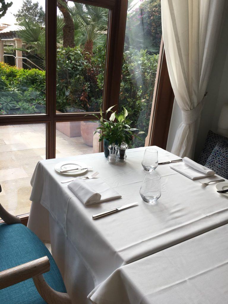 ザ セントレジス マルダバル マヨルカ リゾート(The St. Regis Mardavall Mallorca Resort)内レストラン