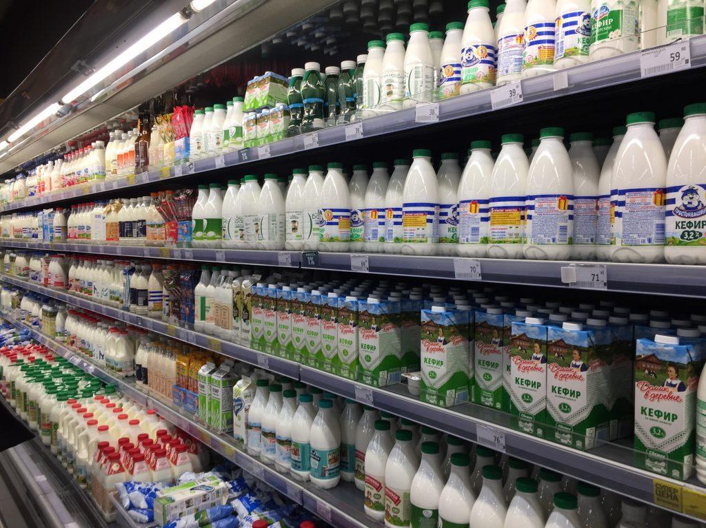 モスクワの牛乳