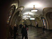 モスクワの駅構内