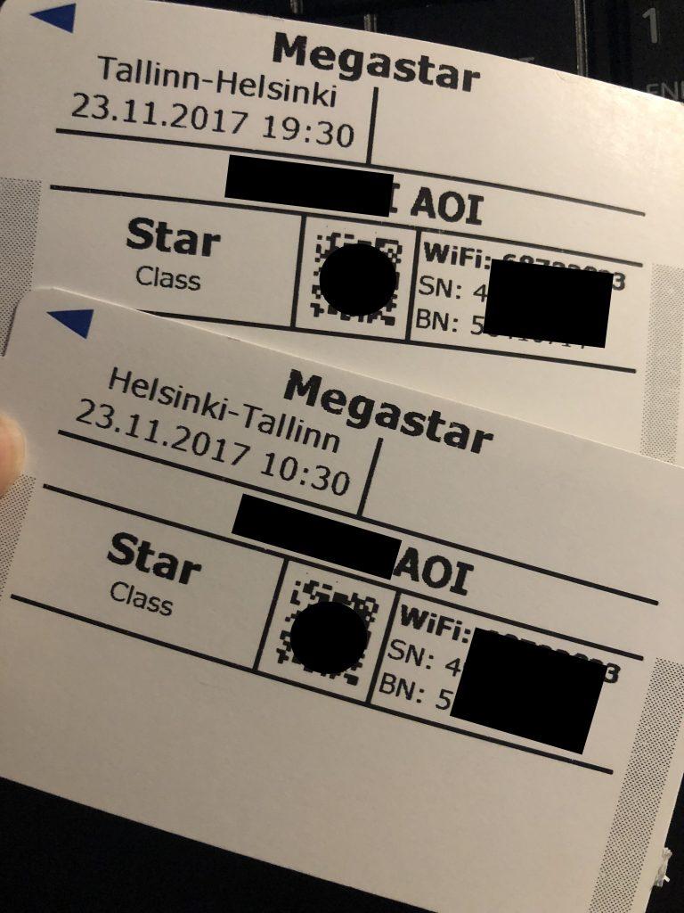 Tallink Silja Lineのチケット