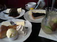 プラハのカフェ、Tricafeのケーキ
