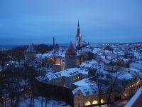 展望台から見たタリンの街