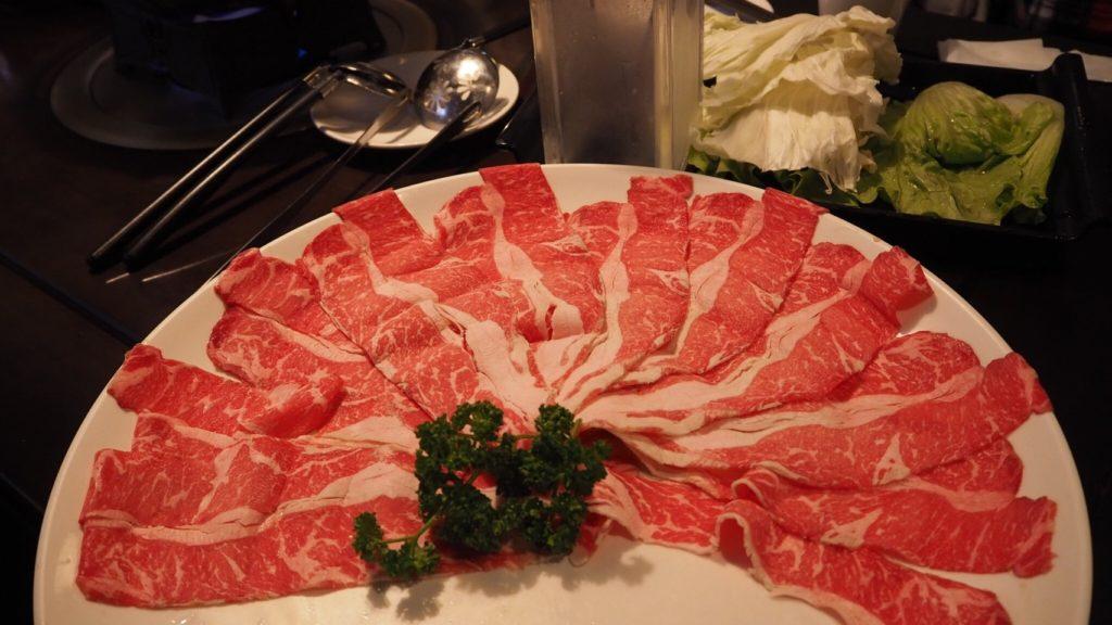 無老鍋の牛肉