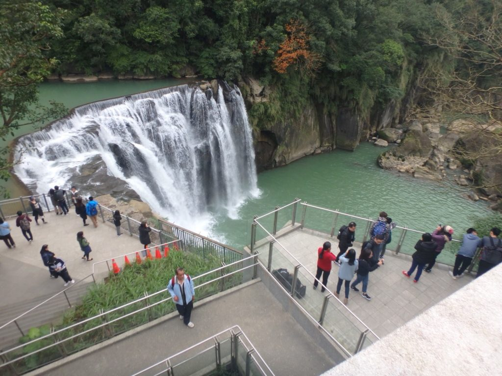 十分瀑布の滝