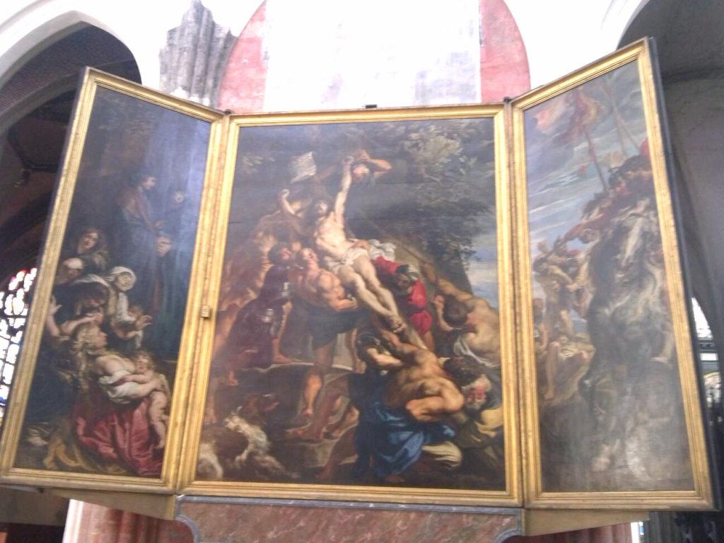 ルーベンス作「キリスト昇架」