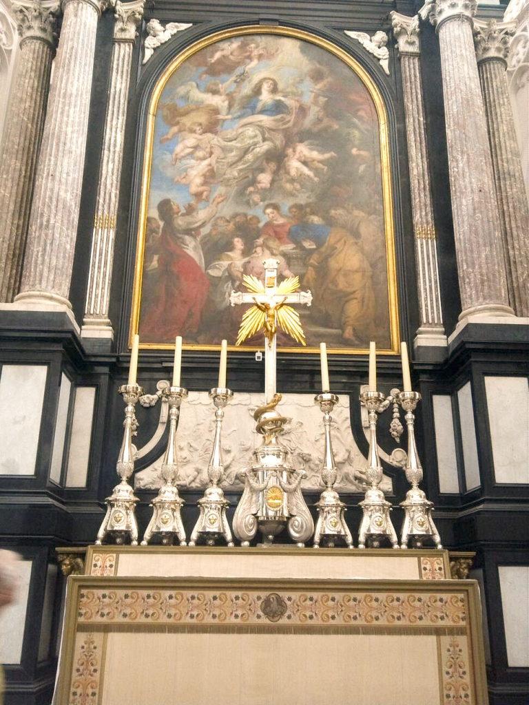 ルーベンス作「聖母悲昇天」