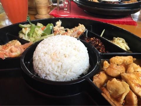 バガンで食べたミャンマーカレー