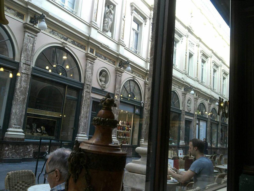 ギャルリー・サン・チュベールのカフェ
