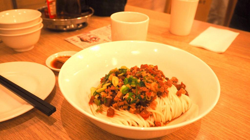 鼎泰豊本店のジャージャー麺