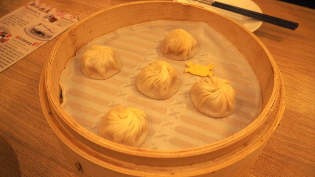 鼎泰豊本店のかに味噌