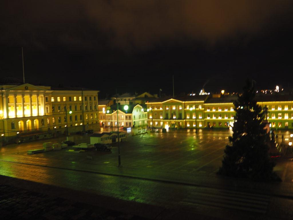 ヘルシンキ大聖堂からの眺め