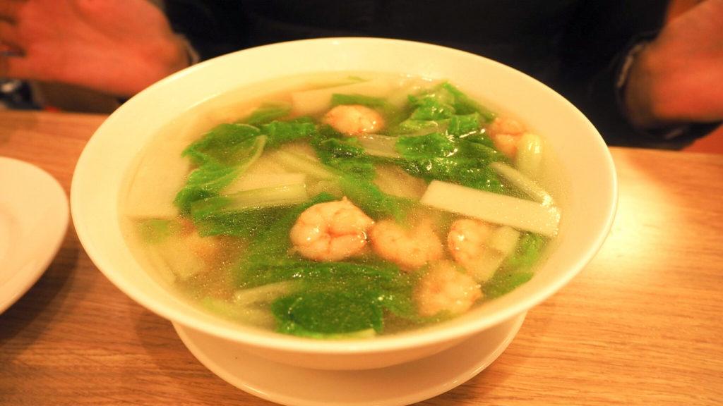 鼎泰豊本店のえび麺