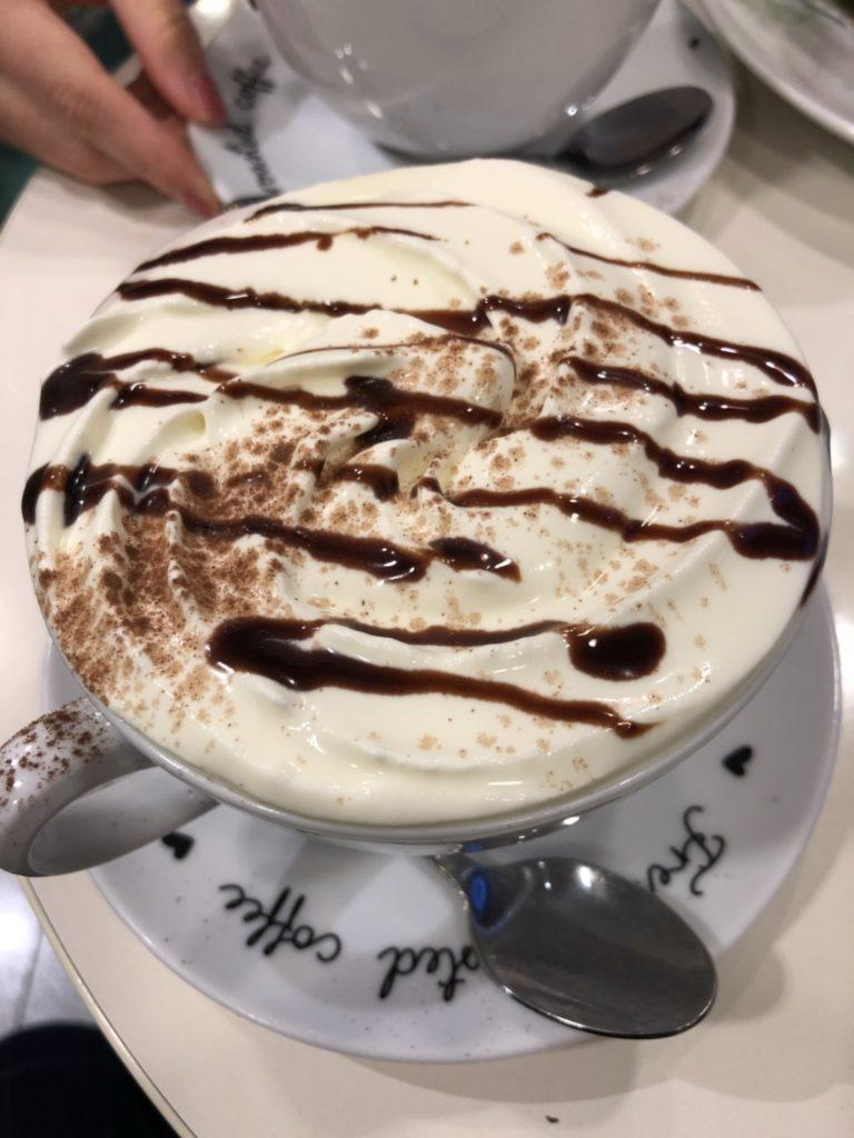 Robert's Coffeeのホットチョコレート