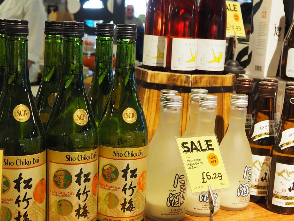 ロンドンのスーパー、ホールフーズマーケット Whole Foods Marketの日本酒