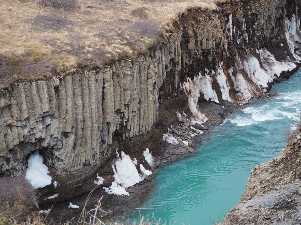 アイスランド、ゴールデンサークルのグトルフォス