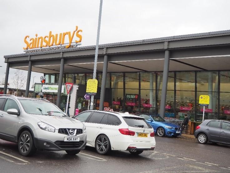 ロンドンのスーパー、セインズベリーズ Sainsbury's