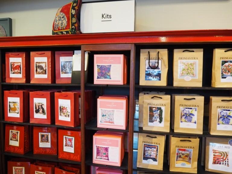リバティ・ロンドン(Liberty)で売られている刺繡キット