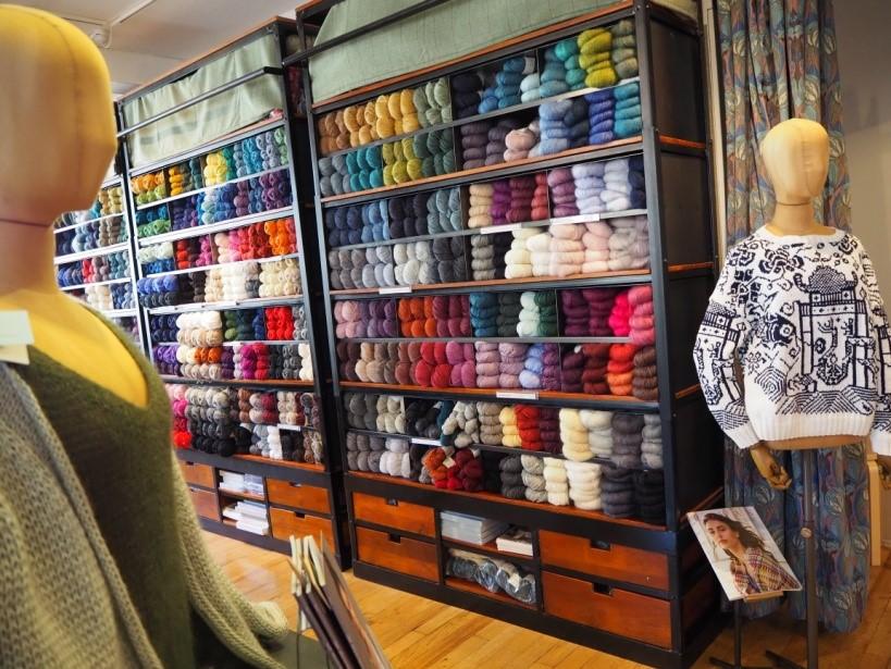 リバティ・ロンドン(Liberty)で売られている毛糸