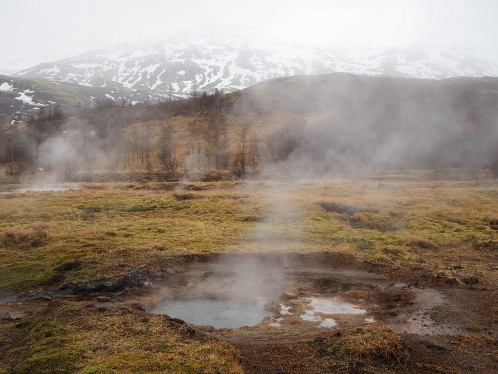 アイスランド、ゴールデンサークルのゲイシール