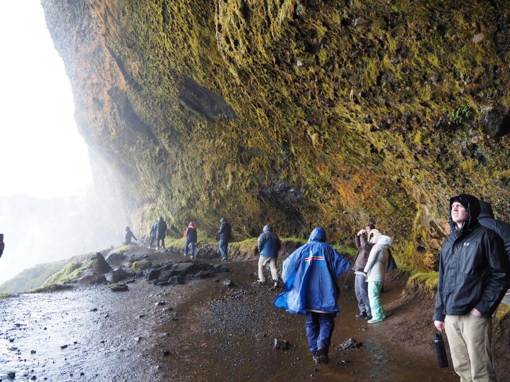 アイスランドアイスランドのセーリャラントスフォスの滝