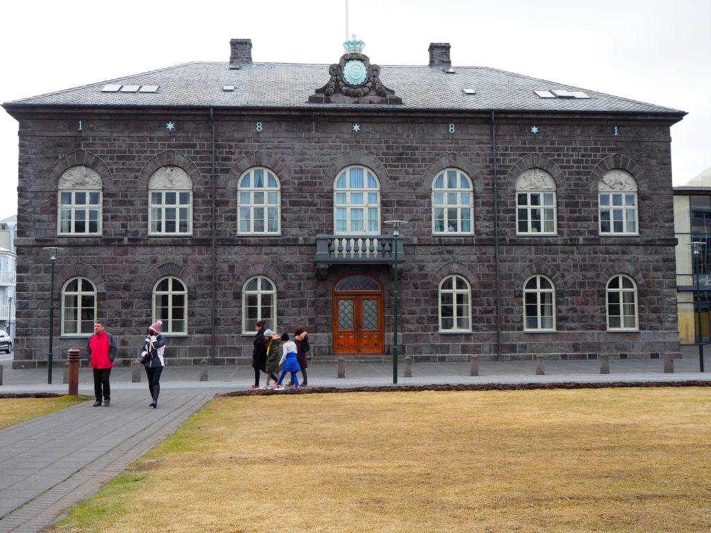アイスランドの国会議事堂