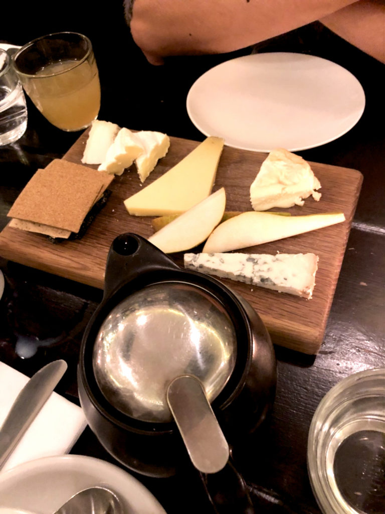 La Fromagerieのチーズ