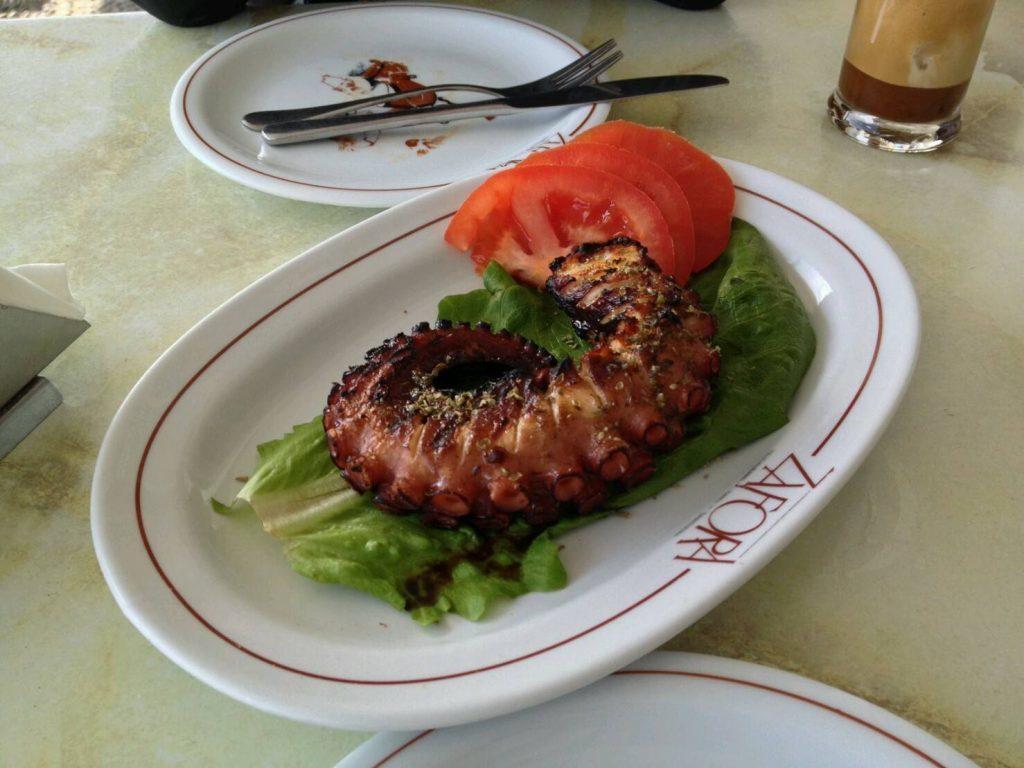 Zaforaの蛸のグリル