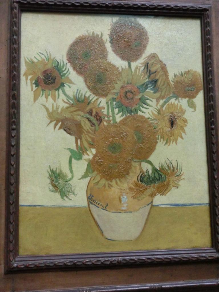 ロンドンのナショナルギャラリー(National Gallery)のゴッホの絵画