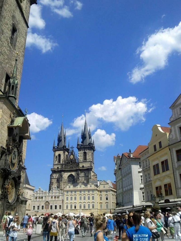 プラハ旧市街のティーン聖母教会