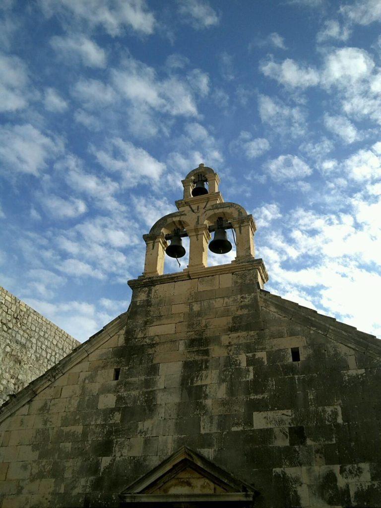 ドブロブニクの城壁の鐘