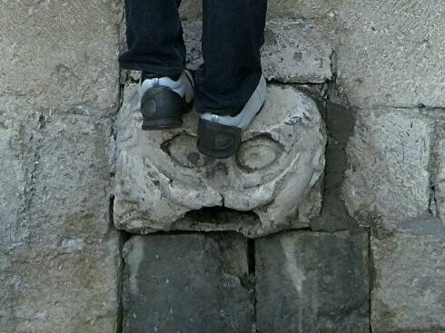 ドブロブニクの願いの叶う石