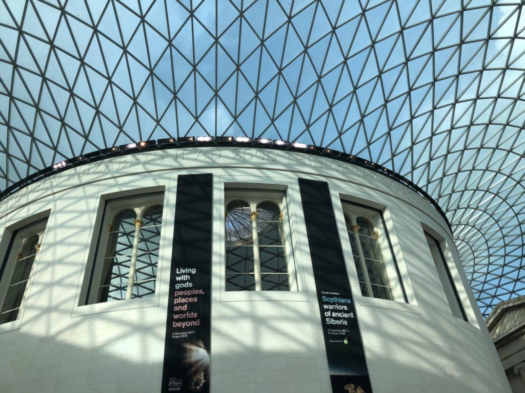 大英博物館(British Museum)のグレートコート(Great Court)