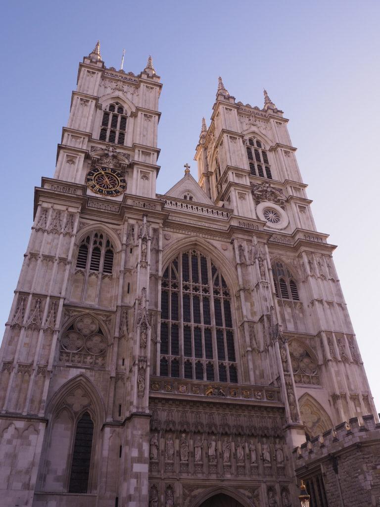 ロンドンのウェストミンスター寺院(Westminster Abbey)
