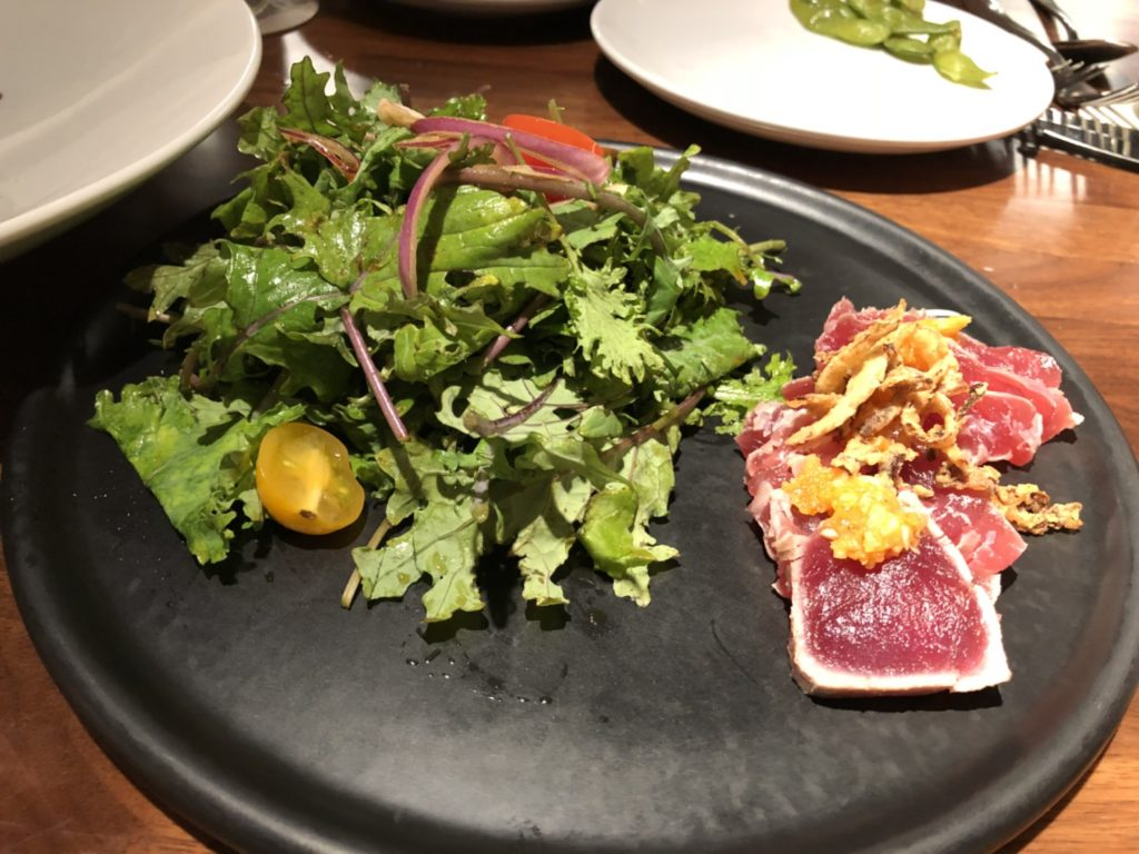 Eating House 1849のGarlic Ahi Salad