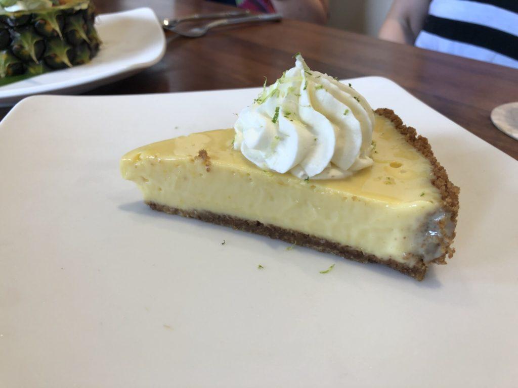 ハワイのトミーバハマのキーライムケーキ