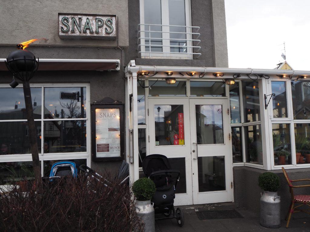 レイキャヴィークのレストラン、スナプス SNAPS
