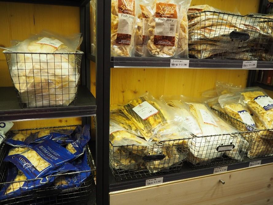 アイスランドの干し鱈のお土産