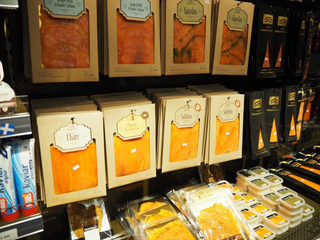 アイスランドのスモークサーモンのお土産