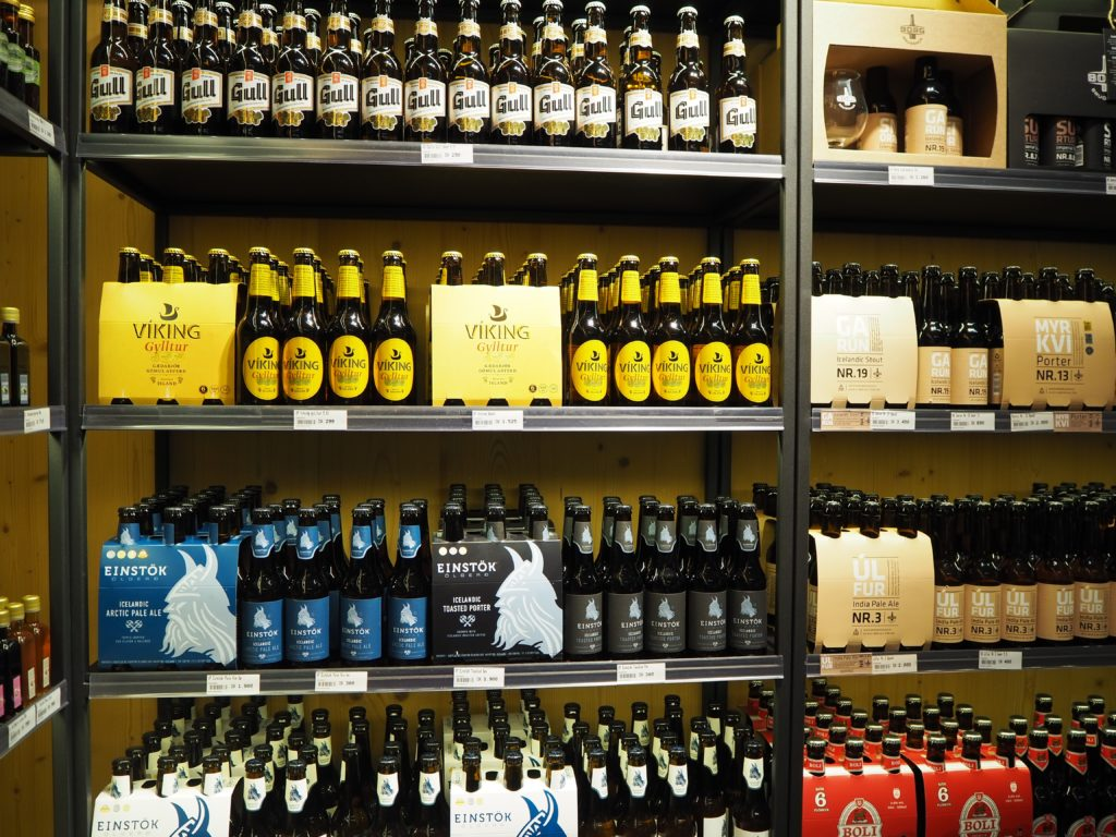 アイスランドのビール