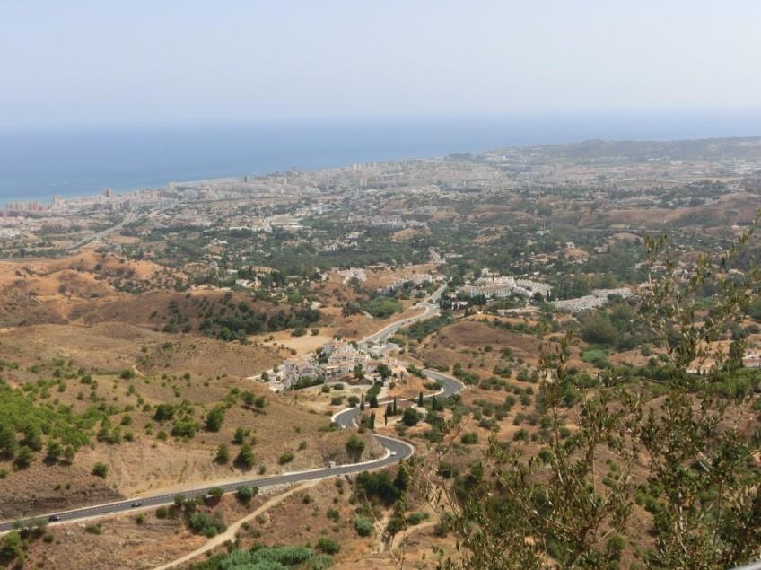 ミハスから見る地中海