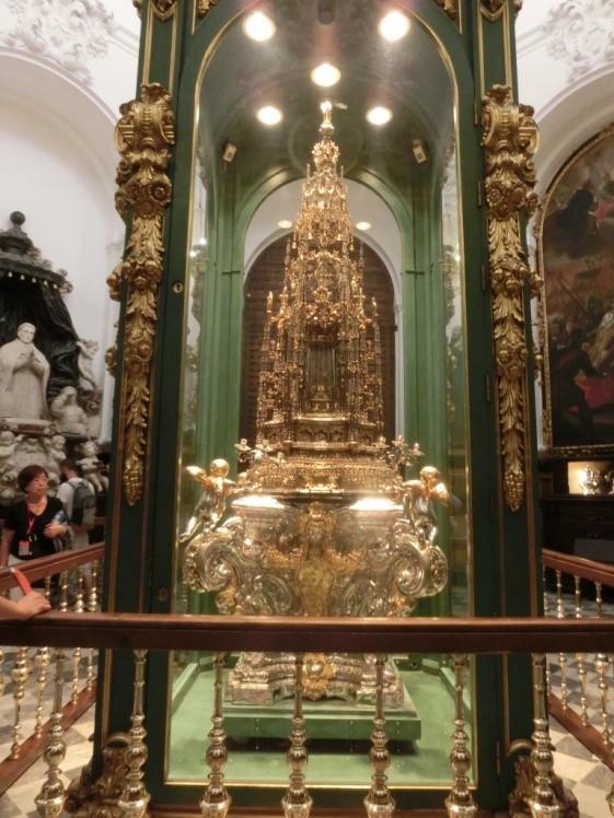コルドバのメスキータの聖体顕示台