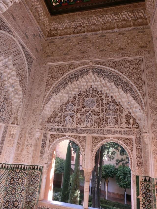 アルハンブラ宮殿の二姉妹の間
