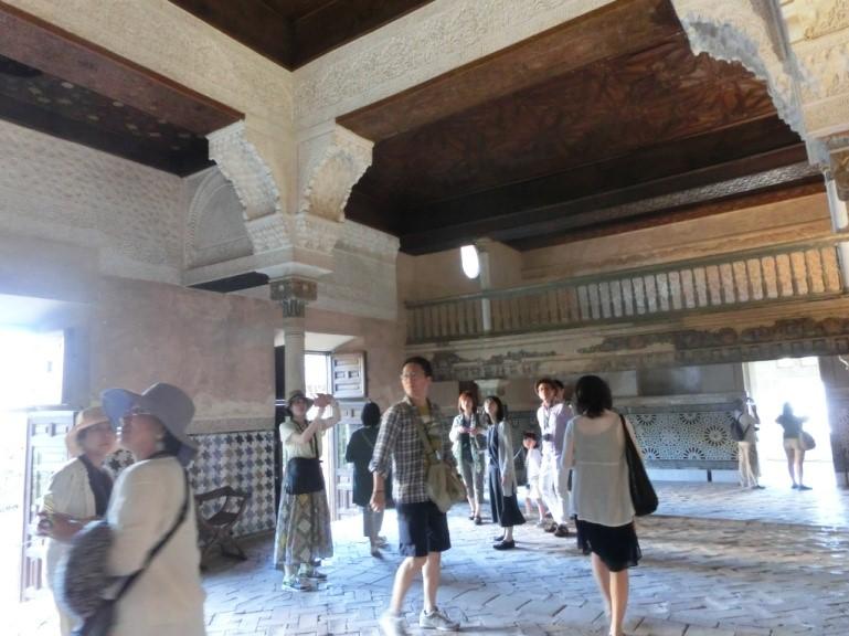 アルハンブラ宮殿のメスアールの間