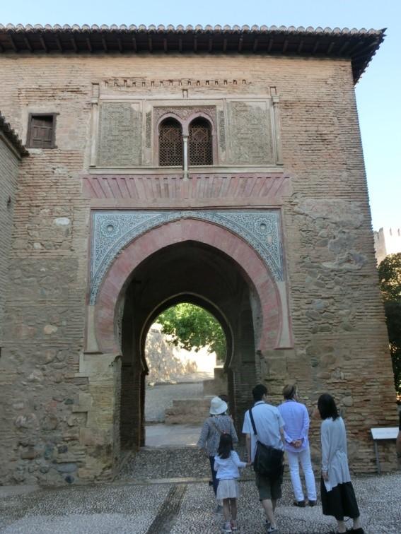 アルハンブラ宮殿、ワインの門
