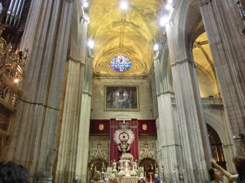 カテドラル(セビリア大聖堂)の主祭壇