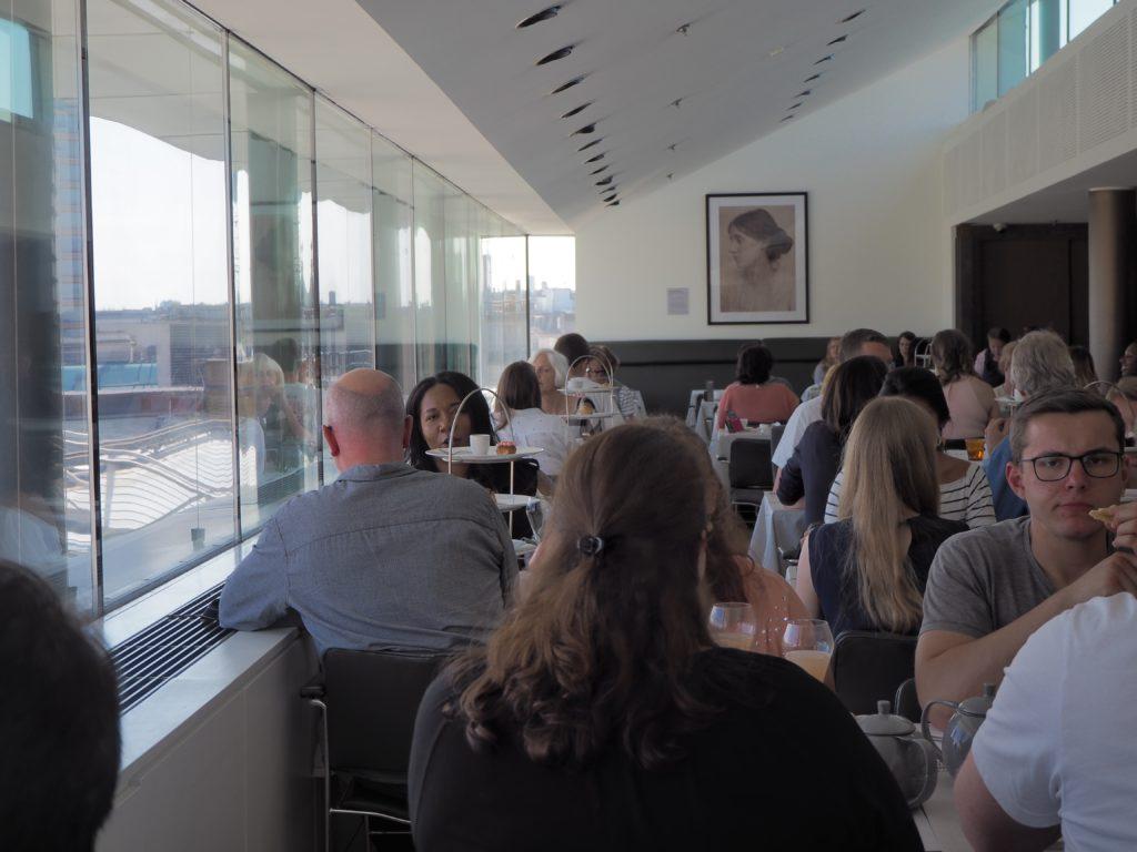 ロンドンのポートレートレストラン(Portrait Restaurant)店内